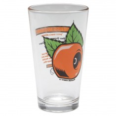 OJ Wheels Brass Monkey Pint Glass - Clear