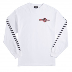 Independent Hazard Long Sleeve T-Shirt - White
