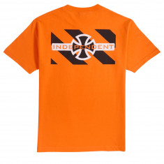 Independent Hazard T-Shirt - Orange
