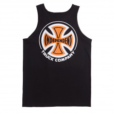Independent 2 Color TC Tank Top - Black