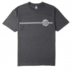 Santa Cruz Other Dot T-Shirt - Charcoal Heather/Silver
