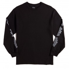 Creature Skateboards Batty Long Sleeve T-Shirt - Black
