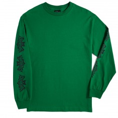 Creature Skateboards Batty Long Sleeve T-Shirt - Kelly Green