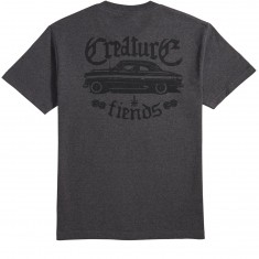 Creature Skateboards Car Club T-Shirt - Charcoal Heather