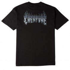 Creature Skateboards Firestarter T-Shirt - Black