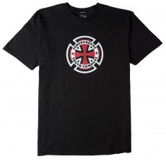 Independent Skateboard Trucks Ringed Cross T-Shirt - Black