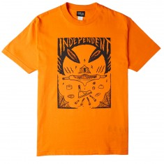 Independent Skateboard Trucks Hitz Ritual Decomissioning  T-Shirt - Orange