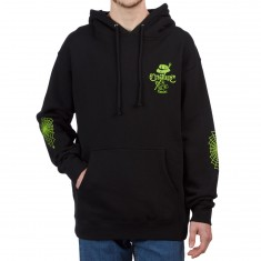 Creature Car Club Pullover Hoodie - Black