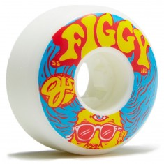 OJ Figgy Third Eye Insaneathane EZ EDGE Skateboard Wheels - 55mm 101a