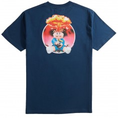 Santa Cruz X Garbage Pail Kids Adam Bomb T-Shirt - Harbor Blue