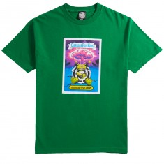 Santa Cruz X Garbage Pail Kids Radioactive Rob T-Shirt - Kelly Green