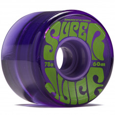 OJ Super Juice Purple 78a Skateboard Wheels - 60mm