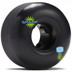 Ricta Sparx Black 99a Skateboard Wheels - 53mm