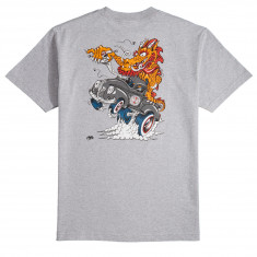 Independent Cab Dragster T-Shirt - Athletic Heather