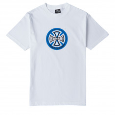 Independent Hollow Cross T-Shirt - White
