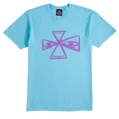Independent Barbee Cross T-Shirt - Pacific Blue