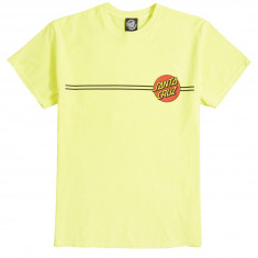 b997126cde Santa Cruz Classic Dot T-Shirt - Neon Yellow