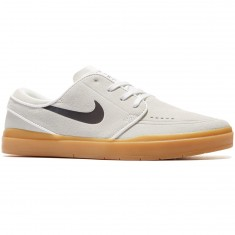 Nike SB Stefan Janoski Hyperfeel Shoes - Summit White/Black/Gum Light Brown