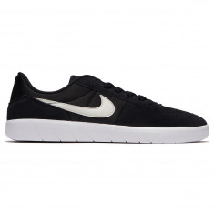 Nike SB Team Classic Shoes - Black/Light Bone/White