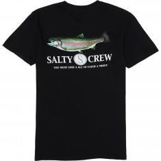Salty Crew Rainbow T-Shirt - Black