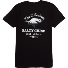 Salty Crew Hard Bitten T-Shirt - Black