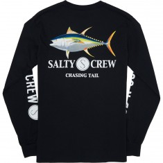 Salty Crew Ahi Long Sleeve T-Shirt - Black