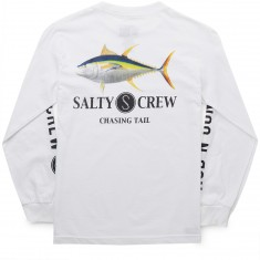 Salty Crew Ahi Long Sleeve T-Shirt - White