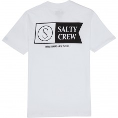 Salty Crew Alpha Pocket T-Shirt - White