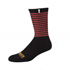 Psockadelic Easy Psock Socks - Black/Yellow