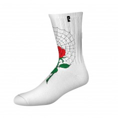 Psockadelic Mccormick Socks - White/Red