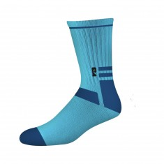 Psockadelic Smooth Socks - Light Blue