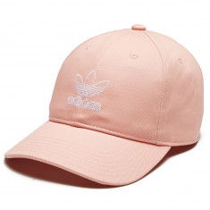 Adidas Womens Originals Relaxed Outline Hat - Dust Pink/White