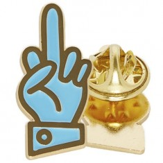 Good Worth Best Wishes Pin - Teal