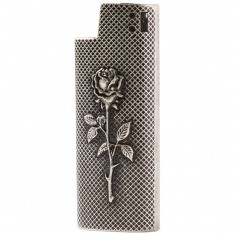 Good Worth Rose Lighter Case - Antique Nickel