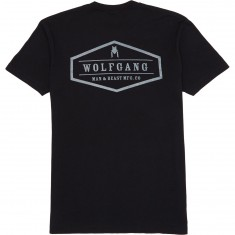 Wolfgang Emblazoned T-Shirt - Black