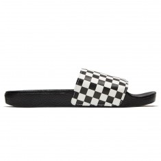 Vans Slide-On Shoes - White Checkerboard