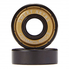 Sweet Ceramics Abec 5 Bearings - Gold