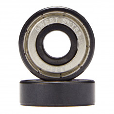 Sweet Chrome Abec 3 Bearings - Silver