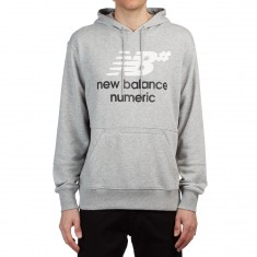 New Balance Fleece Pullover Hoodie - Athletic Grey