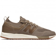 New Balance 247 Decon Shoes - Mushroom/White