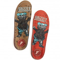 Footprint X Grizzly Kingfoam Orthotic Shoe Insole - Grizzly