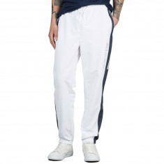 a0a03ad287 Nicce Avalo Track Pants - White/Navy Reflective Check
