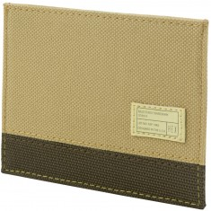 Hex Card Wallet - Aspect Sand Olive