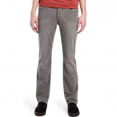 Matix Gripper Slim Straight Jeans - Grey Smoke