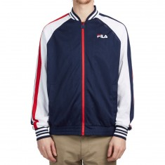 FILA Lucas Jacket - Peacoat/White/Chinese Red