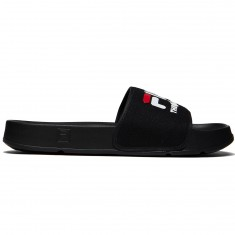 The Hundreds X FILA Drifter Slides - Black