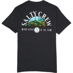 Salty Crew Calico T-Shirt - Black Heather