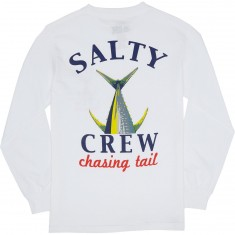 Salty Crew Chasing Tail Long Sleeve T-Shirt - White