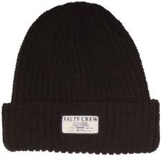 Salty Crew Mapped Beanie - Black