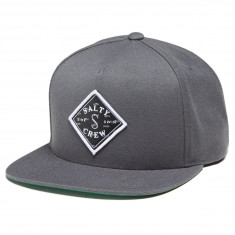 462ec4ba7df8d Salty Crew Tippet Cover Up 5 Panel Hat - Charcoal